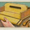 Making knife box.