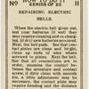 Reparing electric bells.