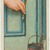 Painting door.