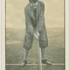 Arthur G. Havers: stance for iron shot.