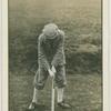 Arthur G. Havers: mashie shot. Stance.