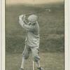 Arthur G. Havers: mashie shot. Top of the swing.