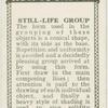 Still-life group.