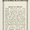 Bull's head.