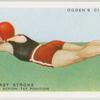 The breast stroke; arm action, first position.