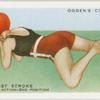 The breast stroke; leg action, second position.