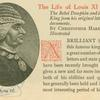 Louis XI, King of France.