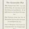 The Gunpowder plot.