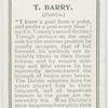 T. Barry. (Dublin.)