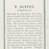 T. Duffey. (Tipperary.)