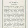 E. Fahy. (Dublin.)
