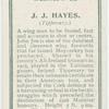 J.J. Hayes (Tipperary.)