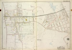 Part of Wards 1 & 2. [Map bound by Dongan Ave, Fairview Ave, Knox PL (1st St), Slosson Ave, Richmond Turnpike, Clove Road, Schoharie St, Cayuga St, Oswego St, Saratoga Ave, Little Clove Road, Ocean Terrace, Chestnut Ave, Todt Hill Road, Schmidts Lane, Manor Road]