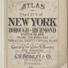 Atlas of The City of New York - Borough of Richmond Staten Island Volume Two Wards 4 & 5 [Title Page]