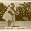 Betty Nuthall.