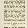 Sir C.E. Kingsford Smith.