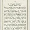 Charles Coburn, music hall artist.