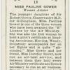 Miss Pauline Gower, woman aviator.