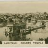 Amritzar, Golden Temple with lake.