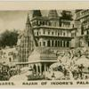 Benares, palace of Maharajah of Indore.