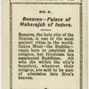 Benares, palace of Maharajah of Indore.