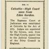 Calcutta, High Court seen from Eden Garden.