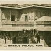 Agra. Birbal's Palace.
