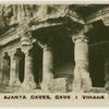 Ajanta Caves. Cave No. 1, Vihara.