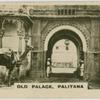 Palitana.  Old palace.