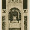 Agra.  Tomb in the Taj.