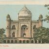 Safdar Jang's tomb.