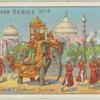 The Gaikwar Elephant. Baroda.