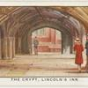 The crypt or ambulatory, Lincoln's Inn.