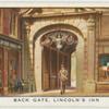 Back gate, Lincoln's Inn.