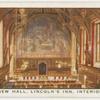 The New Hall, Lincoln's Inn, interior.