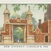 New gateway, Lincoln's Inn.
