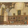 The Hall, Gray's Inn, interior.