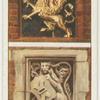 Emblems of Gray's Inn and Lincoln's Inn.