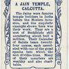 A Jain Temple, Calcutta.
