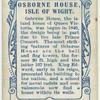 Osborne House, Isle of Wight.