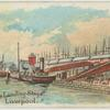 St. George's Landing Stage, Liverpool.