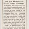 """The gun tampions of H.M.S. """"Queen Elizabeth."""""""