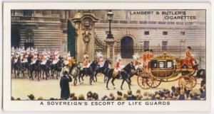 A Sovereign's escort of Life Guards.