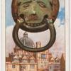 Knocker at Brasenose College, Oxford.