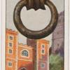 Knocker at Lambet Palace, London, S.E.