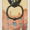 Knocker, Lincoln's Inn Gate, London, W.C.