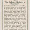 The Prime Minister's knocker.