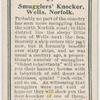 Smuggler's knocker, Wells, Norfolk.