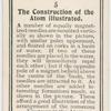 The construction of the atom illustrated.