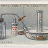 Making hydrogen.